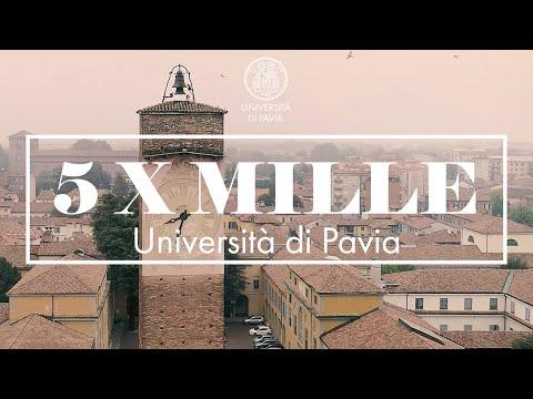 Università di Pavia / DONA IL TUO 5 X MILLE alla formazione d'eccellenza